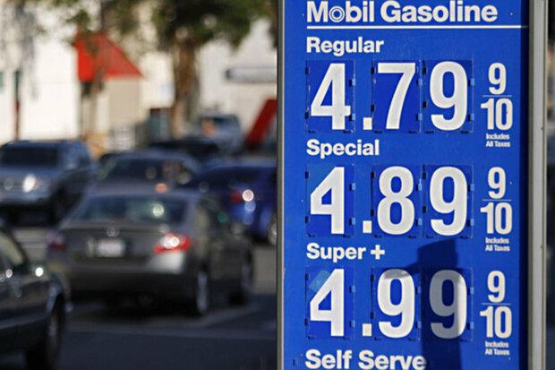 تحریم نفتی ایران عامل مهم رشد ۲۵ درصدی قیمت بنزین در آمریکاست